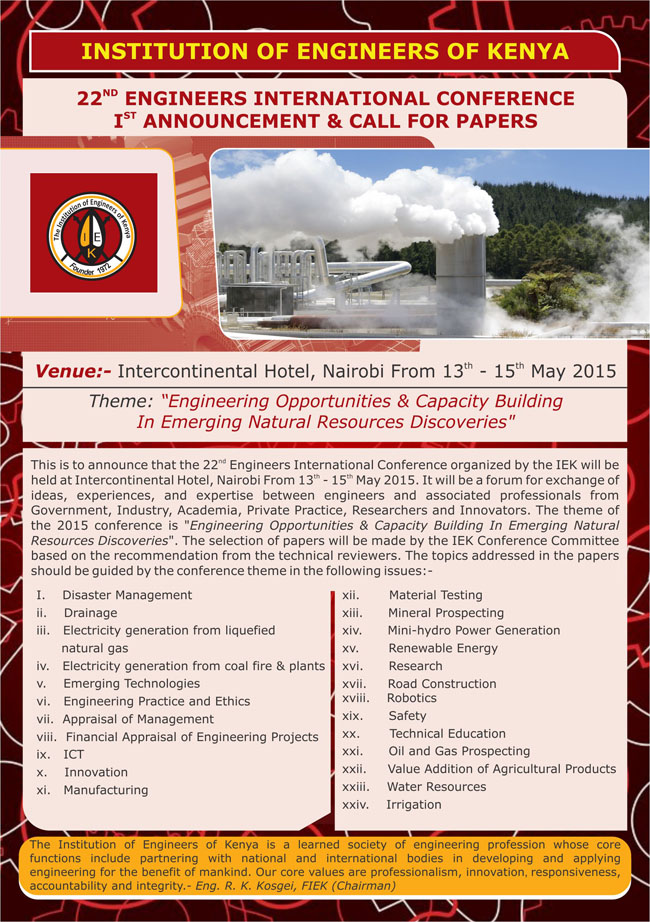 22nd Engineers International Conference A