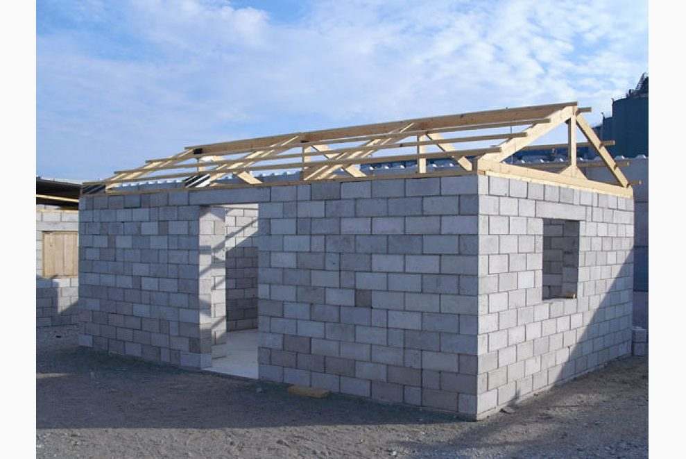 Recycling bringing new life to post consumer construction for Low cost roofing materials