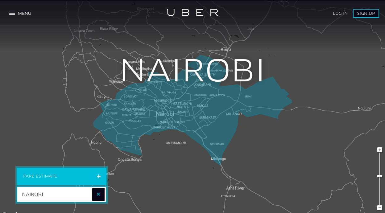 uber nairobi
